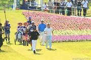 2012年 日本ゴルフツアー選手権 Citibank Cup Shishido Hills 最終日 18番ティグラウンド