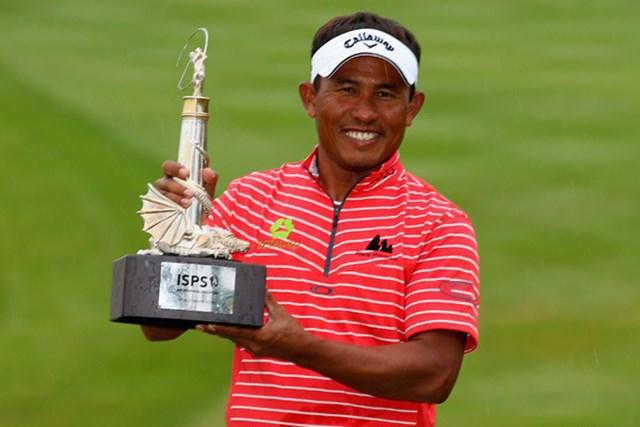 欧州ツアー通算5勝目!ついにアジア地区以外で勝利を掴んだトンチャイ・ジェイディ(Warren Little/Getty Images)