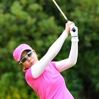 今季からツアーフル参戦の園田絵里子が2アンダー15位タイスタート 2012年 サントリーレディスオープンゴルフトーナメント 初日 園田絵里子
