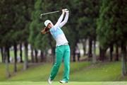 2012年 サントリーレディスオープンゴルフトーナメント 3日目  服部真夕