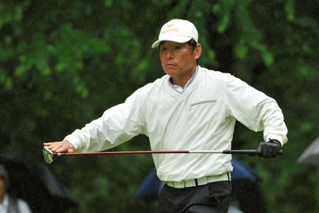 2位に4打差をつけて単独首位に立った尾崎直道、ツアー初勝利に王手をかける※画像提供:日本プロゴルフ協会