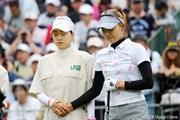 2012年 サントリーレディスオープンゴルフトーナメント 3日目  リ・エスド&妹