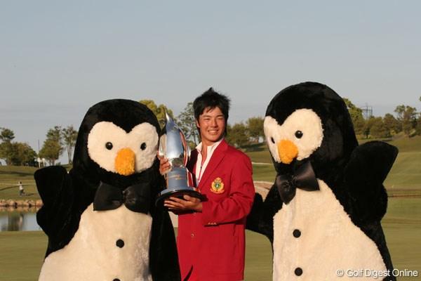 15歳のスーパー高校生、石川遼が史上最年少優勝を飾る!