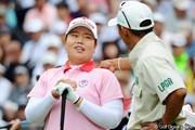 2012年 サントリーレディスオープンゴルフトーナメント 最終日  アン・ソンジュ