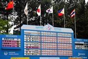 2012年 サントリーレディスオープンゴルフトーナメント 最終日  スコアボード