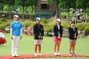 2012年 サントリーレディスオープンゴルフトーナメント 最終日  表彰式