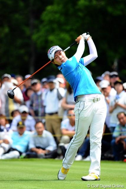2012年 サントリーレディスオープンゴルフトーナメント 最終日  キム・ヒョージュ LPGA小林会長には数十年に1人の逸材というキム・ヒョージュ