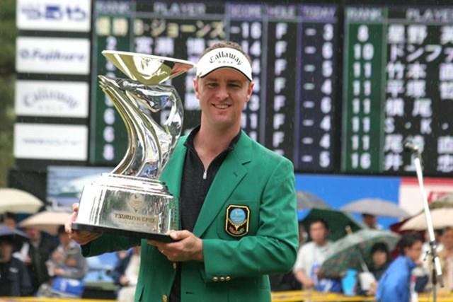 大会2連覇&3度目の優勝を飾ったブレンダン・ジョーンズ
