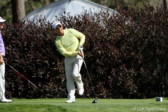 2012年 全米オープン 2日目 谷口徹 まったく歯が立たないわけではないはずだが、+11で予選通過はならなかった