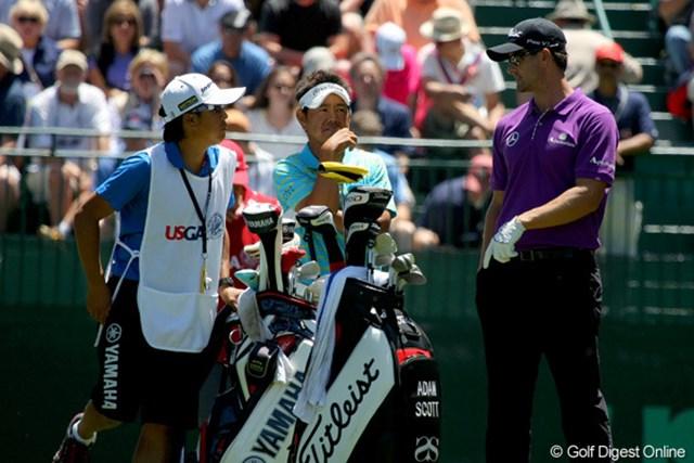 2012年 全米オープン 3日目 藤田寛之 全米OPもあと18ホール、すべてを置いてきたいと思います。