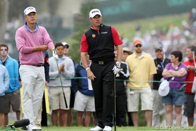 2012年 全米オープン 最終日 フレドリック・ヤコブソン&リー・ウェストウッド 悲願のメジャー制覇は今回も達成できなかったが、再び必ずチャンスは訪れる!