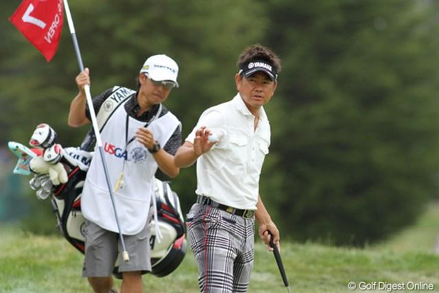 2012年 全米オープン 最終日 藤田寛之 最後は悔しい思いも残りました。でもまたきっと、この舞台に帰ってきます!