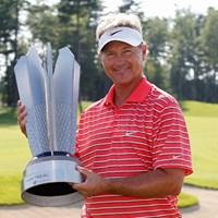 昨年、通算21アンダーをマークして優勝を果たしたジョン・クック(Michael Cohen /Getty Images) 2012年 モントリオール選手権 事前 ジョン・クック