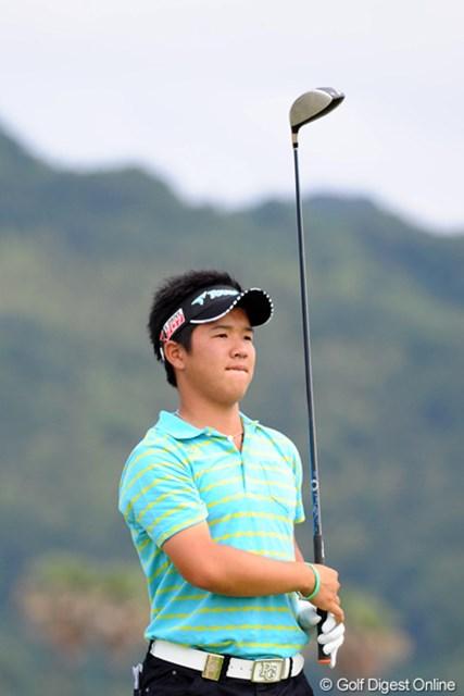 16位タイに浮上したアマチュアの伊藤誠道。「全英オープン」日本人史上最年少出場なるか