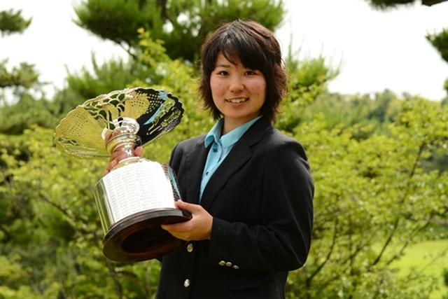 大会2連覇を達成し、来月に迫ったプロテストに向けて弾みをつけた比嘉真美子(写真提供/JGA)