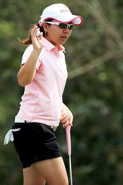 首位と7打差の5位タイで最終日を迎える宮里美香(Chumsak Kanoknan /Getty Images)