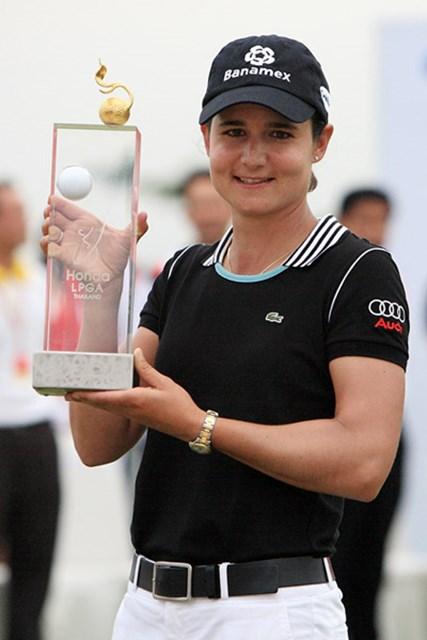 ロレーナ・オチョア 自身の開幕戦で優勝を飾ったL.オチョア。今年も女王に死角はなさそうだ(Chumsak Kanoknan /Getty Images)