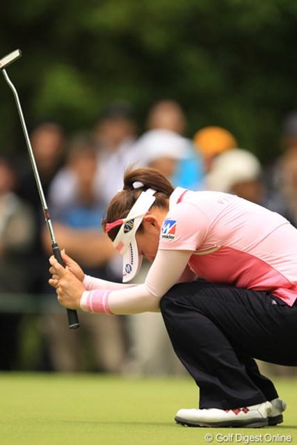 2012年 アース・モンダミンカップ 最終日 有村智恵 とにかくカップに嫌われた一日でした。