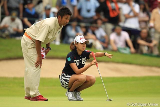 2012年 アース・モンダミンカップ 最終日 木戸愛 前半は上位陣に食らい付く、素晴らしいゴルフでした。