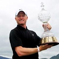 """昨年はイングランド出身のS.ダイソンが勝利。北アイルランド勢は""""母国""""の意地を見せられるか。(Dean Mouhtaropoulos /Getty Images) 2012年 アイルランドオープン 事前情報 サイモン・ダイソン"""