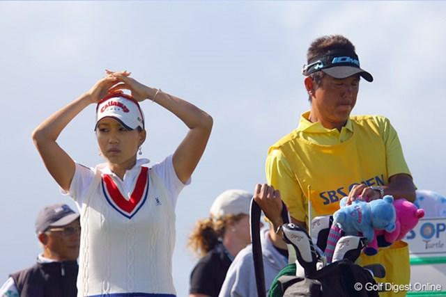 上田桃子 後半はなにをやっても上手く行かず、がっかりの上田桃子
