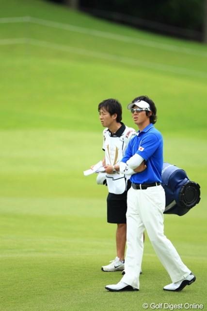 2012年 ミリオンヤードカップ 事前 石川遼 遼くん、普通のウェア着させられちゃうと至って普通になっちゃうよ。