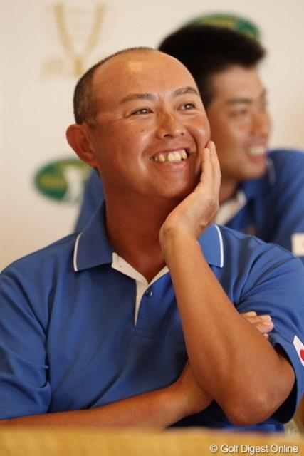 チーム最年長の谷口徹は、プレーで日本代表を牽引する