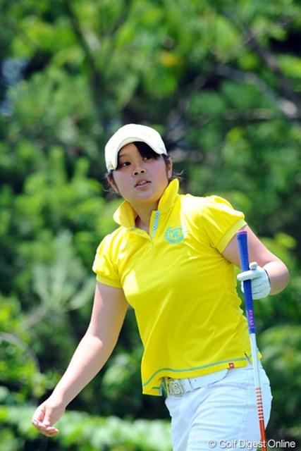 2012年 日医工女子オープンゴルフトーナメント 初日 河野美桜(こうの・みお) 16歳のアマチュア、河野美桜が4位タイの好スタート!