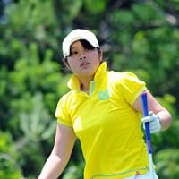 16歳のアマチュア、河野美桜が4位タイの好スタート! 2012年 日医工女子オープンゴルフトーナメント 初日 河野美桜(こうの・みお)