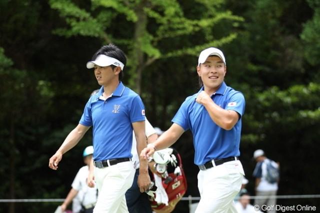 2012年 ミリオンヤードカップ 初日 近藤共弘 藤本佳則 日本チームで唯一の勝利を飾った近藤共弘、藤本佳則ペア