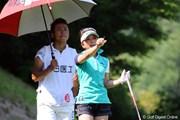 2012年 日医工女子オープンゴルフトーナメント 初日 林綾香&林照大