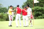 2012年 ミリオンヤードカップ 2日目 韓国チーム