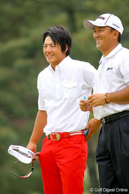 目標のアンダーパーでフィニッシュし、笑顔で大会を終えた石川遼