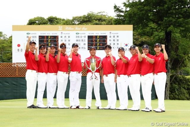 2012年 ミリオンヤードカップ 最終日 韓国チーム 昨年に続いて大会連覇を果たした韓国チー