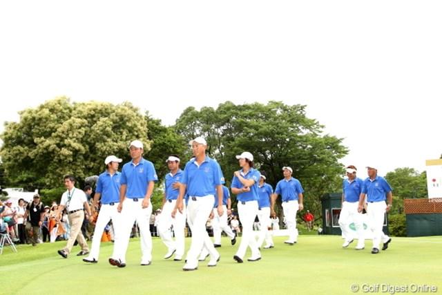 2012年 ミリオンヤードカップ 最終日 日本チーム 通算成績は1勝3敗。ホームで勝利を飾れなかった日本チーム