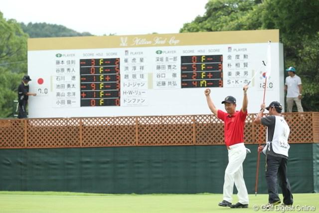 2012年 ミリオンヤードカップ 最終日 S.K.ホ やっぱ韓国チームが勝ったね。