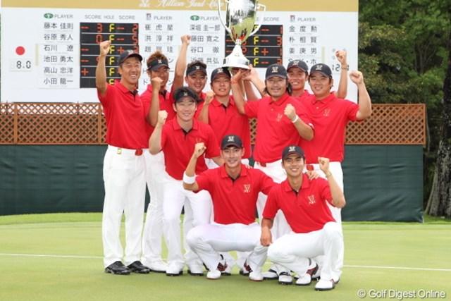 2012年 ミリオンヤードカップ 最終日 韓国チーム 最後までチームが一丸となってたなぁ。