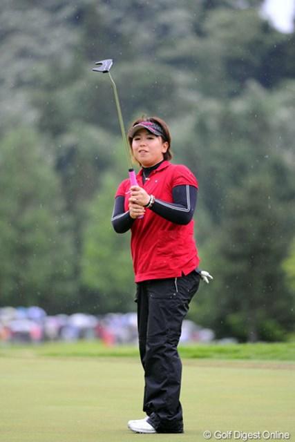 2012年 日医工女子オープンゴルフトーナメント 最終日 吉田弓美子 前半に3つもスコアを落としたのに、よ~盛り返したなァ。マジでチカラはあるんですワ。今回の賞金で早々とシード確定でおます。6位T