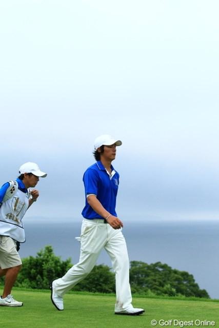 2012年 ミリオンヤードカップ 最終日 石川遼 最終日のシングルス戦できっちりと勝利。チームは負けたが、収穫も得た一週間となった