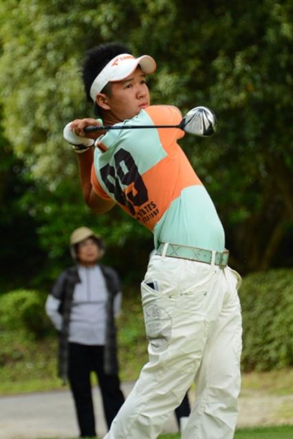 2012年 日本アマチュアゴルフ選手権競技 2日目 伊藤誠道 57位タイスタートの伊藤誠道が「67」をマーク!7位タイに急浮上し、マッチプレー進出を決めた (写真提供:JGA)