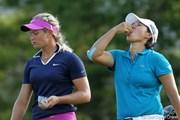 2012年 全米女子オープン 初日 スーザン・ペターセン&ヤニ・ツェン