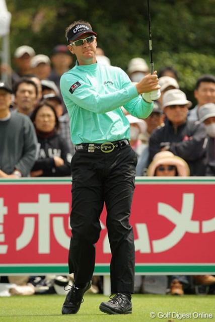 3番のボギー以外は安定したゴルフで2位につけるブレンダン・ジョーンズ