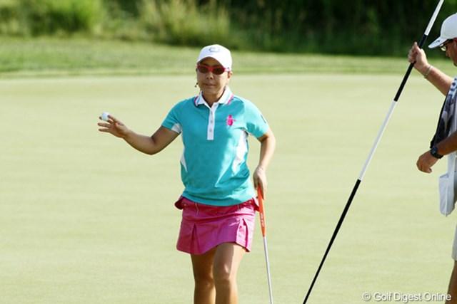 2012年 全米女子オープン 初日 宮里美香 ここ3試合で得た自信。宮里美香が全米女子オープンでも好調をキープしている