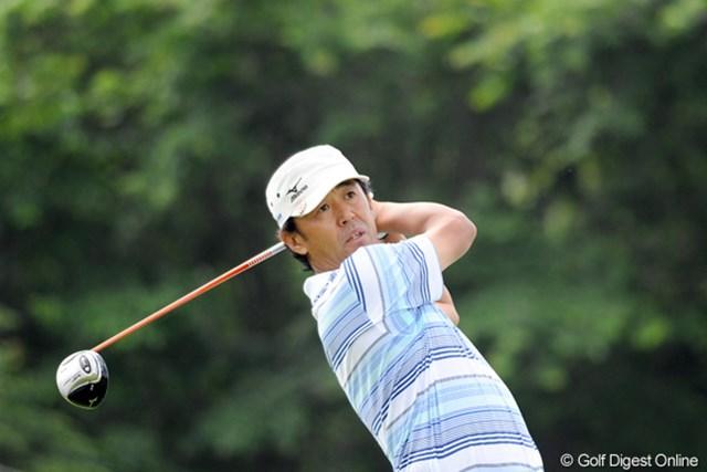 2012年 長嶋茂雄 INVITATIONAL セガサミーカップゴルフトーナメント 2日目 鈴木亨 2日目に5ストローク伸ばして3位浮上。およそ30年ぶりに長嶋茂雄氏と再会を果たせるか。