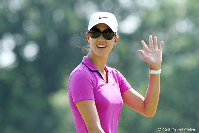 2012年 全米女子オープン 2日目 ミッシェル・ウィ 天才少女と謳われたミシェル・ウィはもう22歳。ゴルフに専念する今年が勝負!