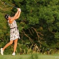 ええ~っと、ゴルフウェアですよねぇ? 2012年 全米女子オープン 2日目 マリア・ヨース
