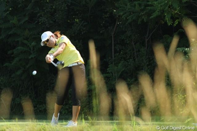 2012年 全米女子オープン 2日目 宮里美香 好調の波はまだまだ続く。このまま勢いに乗って優勝を狙いたい