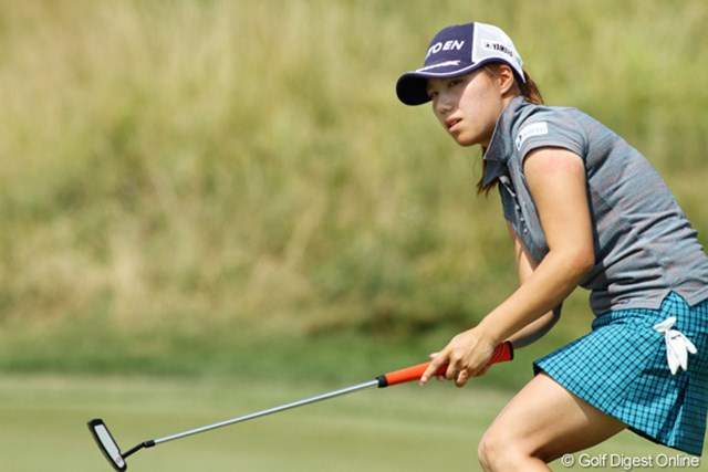2012年 全米女子オープン 3日目 綾田紘子 土曜日はコース内でトッププレーヤーを観戦。この経験が役立つはず!