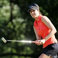 通算-1でトップを追いかける。長身を活かしたプレーで明日どこまでナヨンに迫れるか? 2012年 全米女子オープン 3日目 サンドラ・ガル
