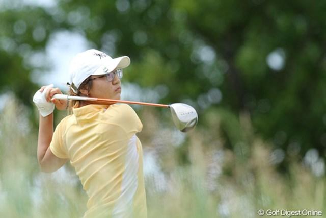 2012年 全米女子オープン 3日目 リディア・コー アマチュアランクの現在1位。アマチュア選手は3人が予選通過を果たしている。ローアマに輝くのは誰だ?